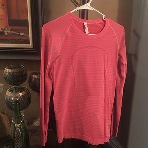 Lululemon Run Swiftly long sleeve shirt.